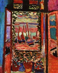 Le fauvisme caroline boeglin for Matisse fenetre